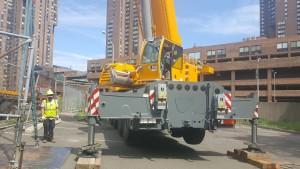 Back of crane